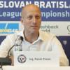 Vedenie Slovana chce posilniť káder. Chýbajú dvaja centri, tvrdí Ziman