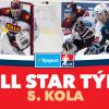 All Star tým 5. kola Tipsport extraligy