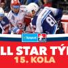 All Star tým 15. kola Tipsport extraligy
