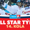 All Star tým 14. kola Tipsport extraligy