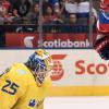 Světový pohár: Švédsko vykročilo za postupem! Ovechkinův gól Rusům nestačil