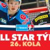 All Star tým 26. kola Tipsport extraligy